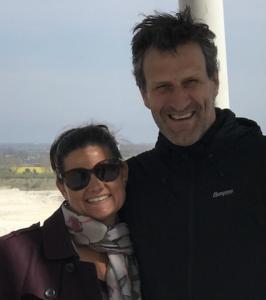 Lucinda and Michael Rasmussen